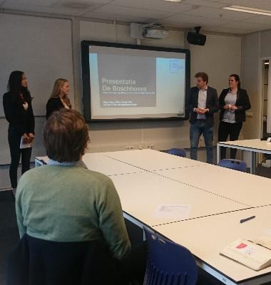 Studenten pitchen hun Boschhoeve van de toekomst