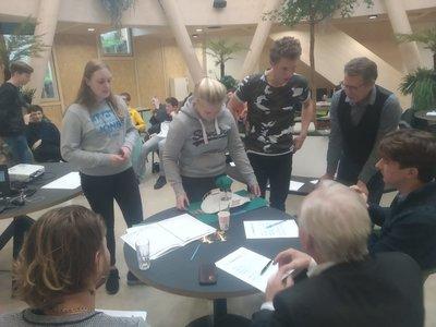 Studenten Bouwkunde bedenken duurzame wateroversteekplaats voor Ecomunitypark Oosterwolde